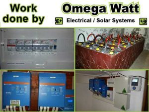 Electrical Work done by Omega Watt Electrical and Solar Systems in Mossel Bay