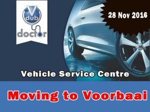 Vdub Doctor Vehicle Service Centre moving to Voorbaai Mossel Bay