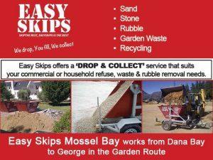 Skip Rental in Mossel Bay and George by Easy Skips Mossel Bay