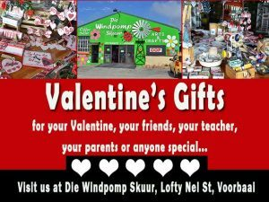 Valentine's Gifts at Gift Shop in Mossel Bay