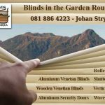 Garden Route Blinds Supplier