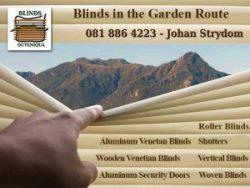 Blinds in Mossel Bay