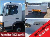 Panel Beaters of Trucks in Mossel Bay