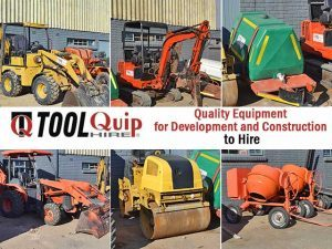 Quality Equipment for Development and Construction to Hire in Mossel Bay