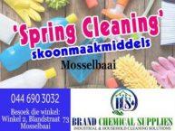 """""""Spring Clean"""" Skoonmaakmiddels in Mosselbaai"""
