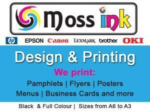 Designing & Printing in Mossel Bay