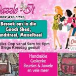 Geskenkwinkel in Mosselbaai met Cotton Road en Vivace Handsakke