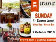 Kontreikos Sunday Lunch Vlees Bay Mossel Bay