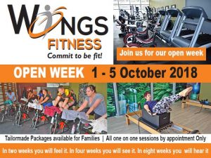 Open Week at Fitness Studio in Mossel Bay