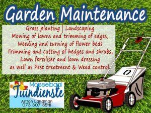 Garden Service in Mossel Bay