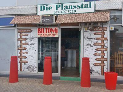 Biltong Shop in Mossel Bay