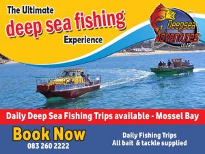 Deep Sea Fishing Trips in Mossel Bay this School Holiday