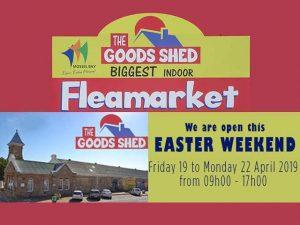 Indoor Fleamarket in Mossel Bay open this Easter Weekend