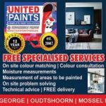 United Paints offers Free Specialised Services