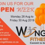 Open Week at Fitness Studio Mossel Bay