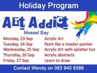 Art Addict Holiday Program Mossel Bay