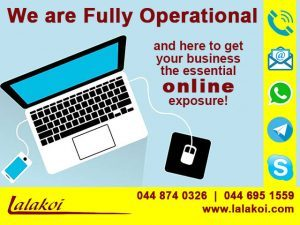 Lalakoi Fully Operational and Ready to Assist You!