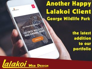 New George Wildlife Park Website by Lalakoi Web Design