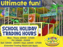 Come rain or shine, Blasters Mossel Bay is open this School Holiday!